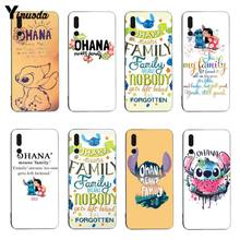 Ohana Yinuoda Soft caso Capa Para honor9 honor10 V9 V10 P20 coque pro P9 P10 P10 plus(China)