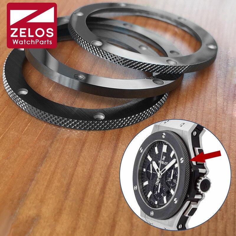 HUB orologio in ceramica cornici inserti per hublot big bang 44 millimetri orologio automatico lunetta anello di parti di ricambio-in Kit e utensili per riparazioni da Orologi da polso su  Gruppo 1