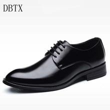 Patent Leather Oxford Shoes For Men Dress Shoes Men Formal Shoes italian Pointed Toe Business Wedding Plus Size 48 613 цена в Москве и Питере