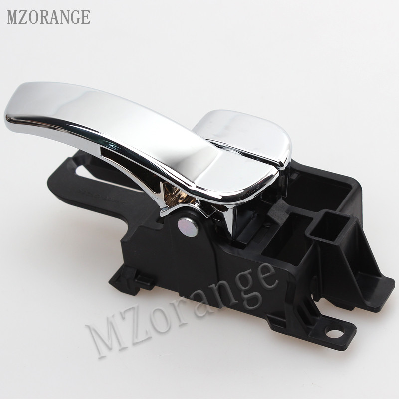 MZORANGE inner door handle Car Inside Door Handle for Nissan Qashqai J10 2008 2009 2010 2011 2012 2013 2014 2015 Left / Right mzorange new 1 pair left