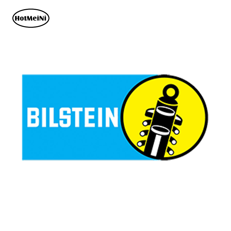 HotMeiNi Car Styling Car Sticker Waterproof Bilstein Racing Rally Autocollants Auto Moto Vinyle Stickers Tuning 13cm x 6.5cm амортизаторы bilstein в6 offroad