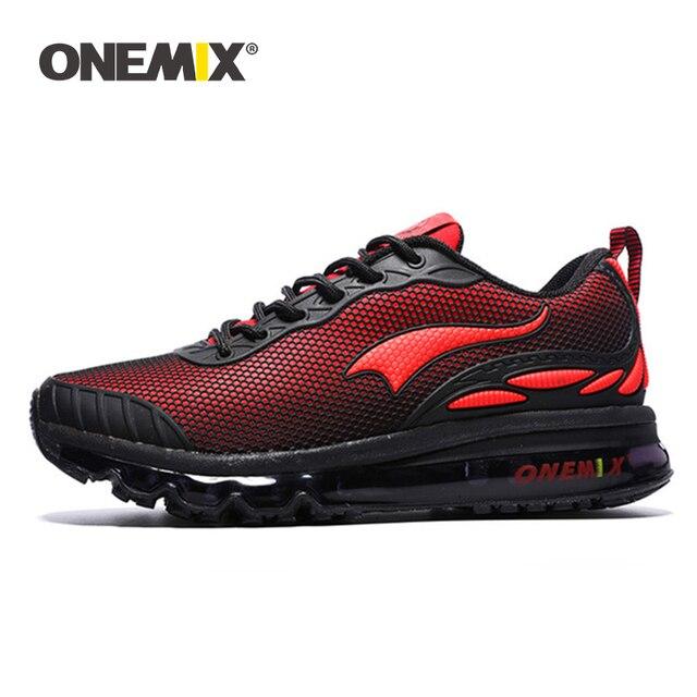 Onemix мужские кроссовки женские спортивные дышащие Кеды легкие мужские спортивная обувь для прогулок и бега