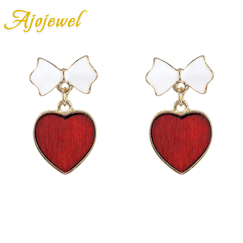 yellow earrings gold butterflies stone shaped heart product stud pink