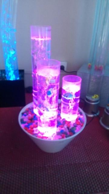Water Column Lamp\Bubble Lamp Water Cannon Lamp Bubble Water ZhuDeng,  Dancing Lights