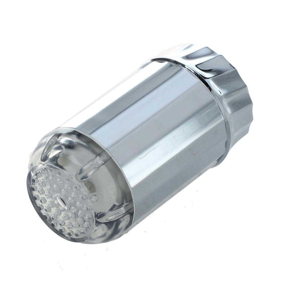 Vendita Calda Spruzzatore Soffione Cromato a Led 3 Colori per Doccia Doccetta Sensore Termico