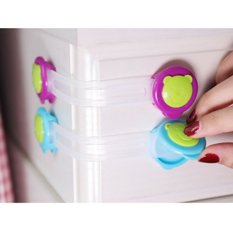 4 Pcs/Lot Plastic Child Lock Children Protection Baby Safety Infant Security Window Lock Kids Door Interlocks Keep Babies Safe