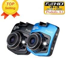 2019 новый оригинальный Podofo A1 Мини Автомобильный dvr камера видеорегистратор Full HD 1080 P рекордео для видеорегистратора g-сенсор ночное видение регистраторы