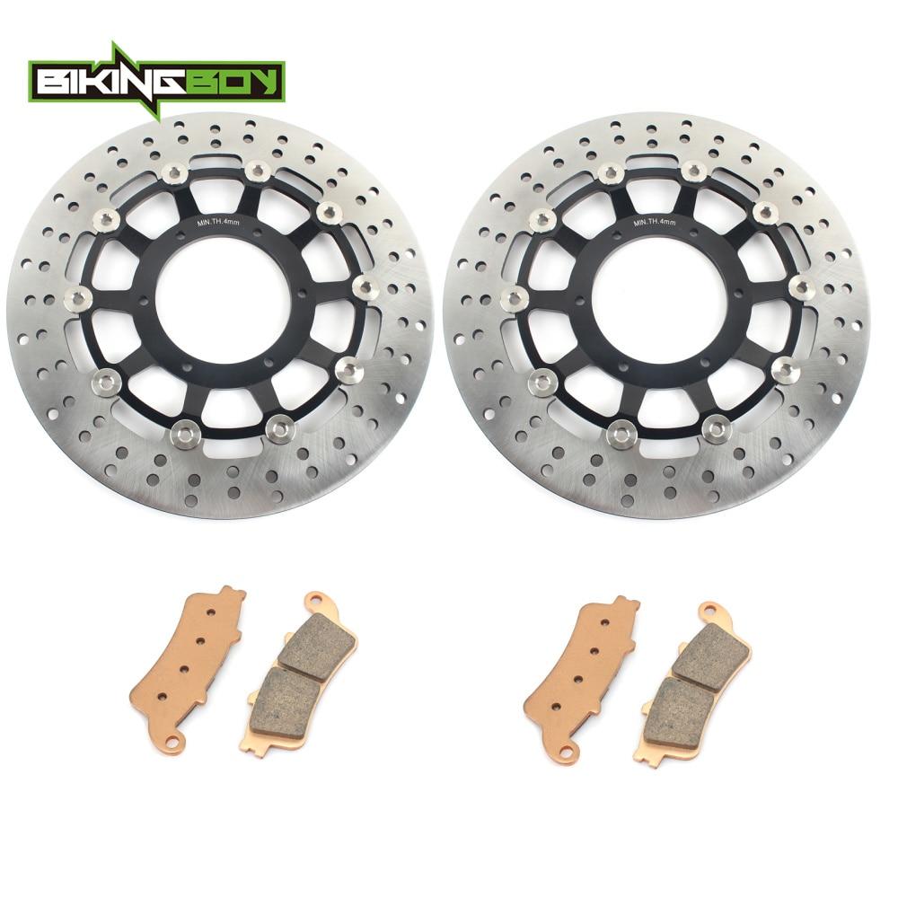 Front and Rear Sintered Brake Pads for Honda VTX1800 VTX 1800 T 2007-2011