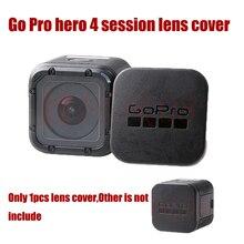 ゴープロカメラアクセサリーのgopro hero 4セッションカメラレンズキャップカバーボックスカバー保護フィット移動プロヒーロースポーツカメラ