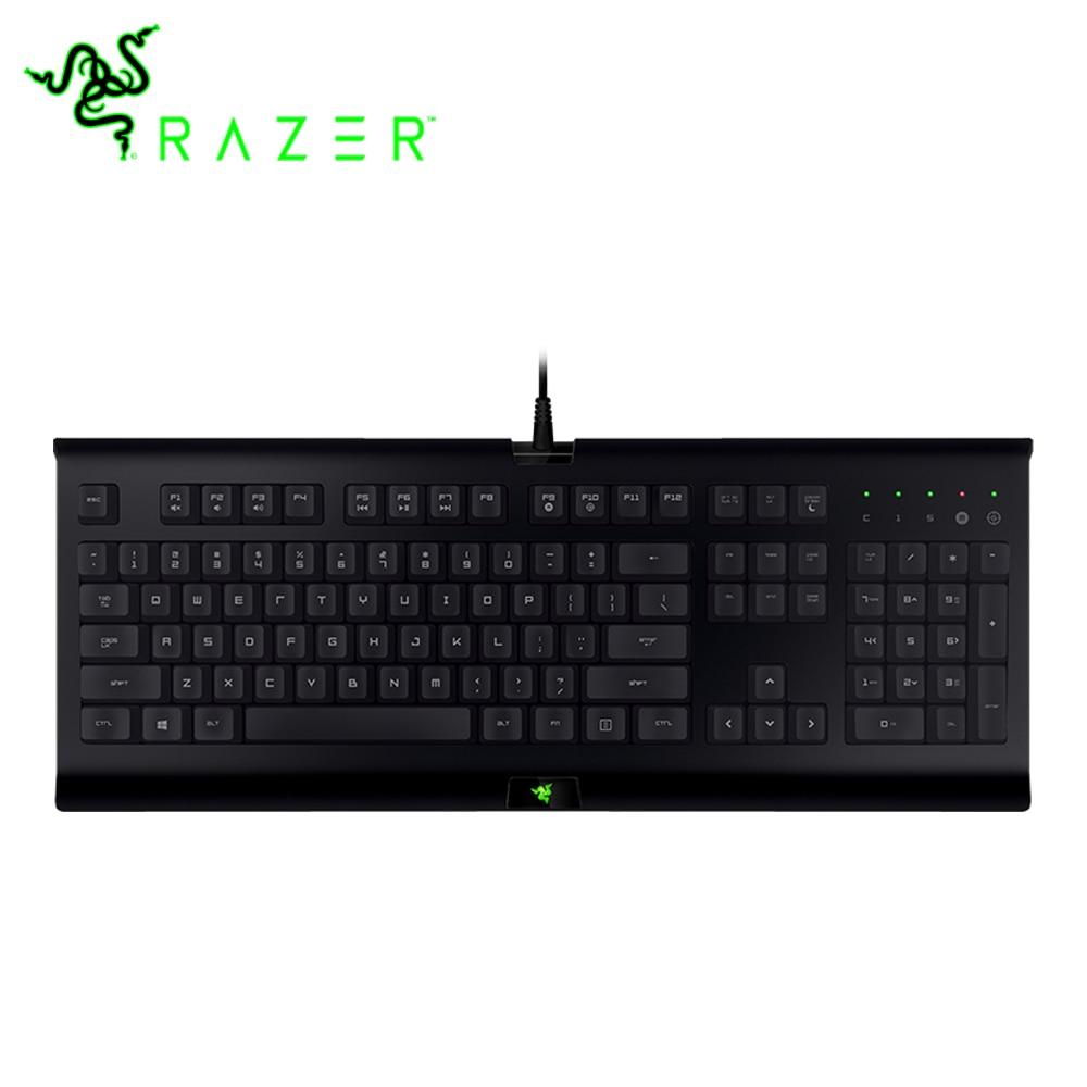 лучшая цена Razer Cynosa Pro 3-color Backlight Membrane Gaming Keyboard 104 Keys Full-keys US Layout General Keyboard Professional Keyboard