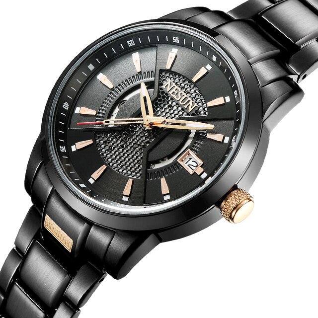 895688c61d4 Nesun Assistir Homens Suíça Japão Seiko NH35A Automático Relógio de Aço  Inoxidável Marca de Luxo Relógios