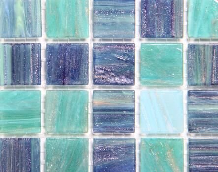 Cartina Blau Weiss Farbmischkeramik Mosaikfliese Fur Kuche Backslash