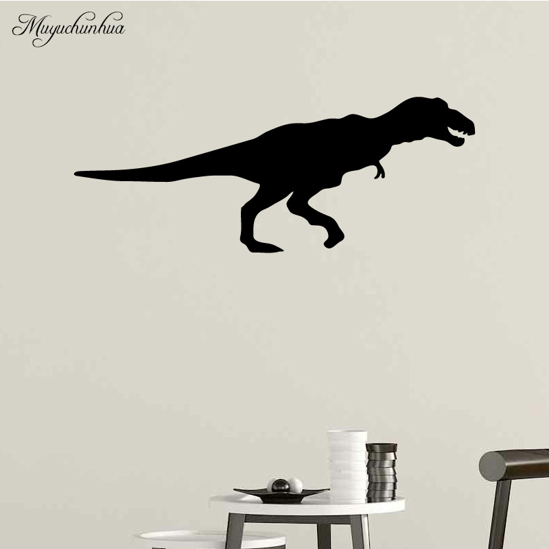 Muyuchunhua Sauropoda Stickers Vinyl Wallsticker for Boys Room Living Room Decoration Decals Vinilos Decorativos Para Paredes