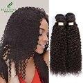 7a brasileño kinky rizado pelo de la virgen 4 bundle ofertas beau diva Productos para el cabello Profunda Brasileña Rizada Del Pelo Humano Rizado Afro rizado pelo