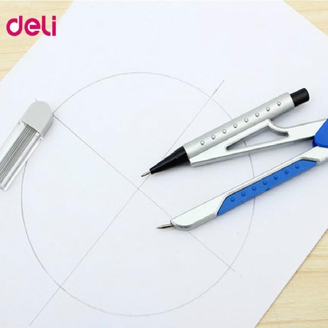 deli drawing math compasses set drawing compass math geometry tools ...