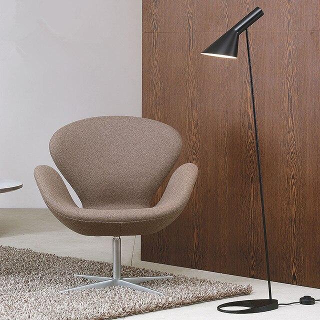 Modern Black Floor Lamps Lighting Living Room Standing Lamps Bedroom  Bedside Floor Lights Fixtures Luminiares Home