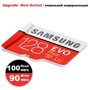 Image 3 - 삼성 마이크로 sd 메모리 카드 128 gb class10 방수 tf 미니 카드 c10 100 메가바이트/초 sdhc/sdxc UHS I 삼성 갤럭시 j3 프로 j5