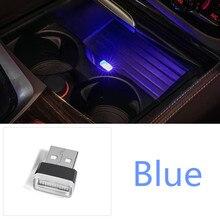 Car Styling Tazza Box di Stoccaggio Titolare USB Lampada Decorativa per la VW Jetta Touareg Tiguan MK2 Passat CC per Skoda Superb a7