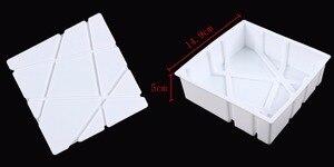 Image 3 - 3 قطعة كتلة الشبكة الغيوم تموج ثلاثية الأبعاد موس قوالب كعك للآيس كريم الشوكولاته قالب الكعكة عموم خبز الأشكال الهندسية
