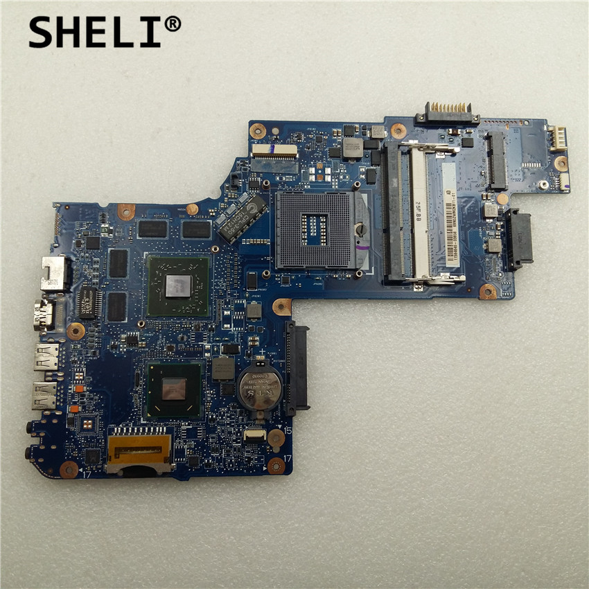 SHELI For TOSHIBA C850 L850 Motherboard with HD7670M Video Card H000051770