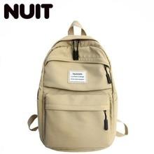 Female Fashionable Nylon Backpack School Back Pack Bags For Teenage Girls Designer Bagpack Bookbag Backpacks