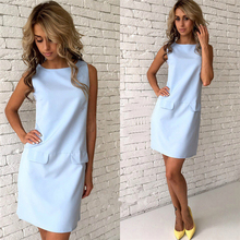 Girls Cute Women Dress Pencil Sheath Dresses Vestidos De Festa 2017 Summer Basic Casual Shirt Dress Female Office Ladies LJ9076Z