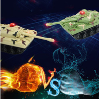 Children's Toy Remote Control Tank Infrared Battle Tank Car Simulation Military Model Electric Tank Car Toy Children's Gift
