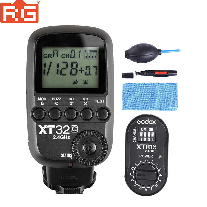 Godox XT32C XT32N 2 4G Wireless 1 8000s High speed sync Flash Trigger for Godox X