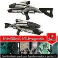 Mass Effect 2 M8 Avenger Rifle Escala 1:1 Modelo de Papel 3D Kits Cosplay, criança Adultos Armas Armas de Papel Modelos de Brinquedos Artesanais