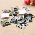 20pcs/lot Square Skull Photo Glass Cabochon 25mm diy flatback jewelry findings for Necklace Pendants