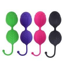 Double-headed vagina balls female adult erotic sex toys supplies wholesale