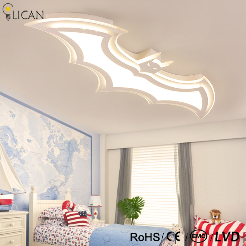 Lican Modern Led Ceiling Lights Luminarias Para Sala Dimming Lamp Deckenleuchten Children For Bedrooms