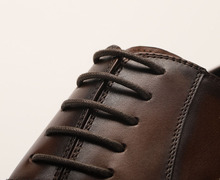 QYFCIOUFU Luxury Classic Man Style Party Retro Dress Shoes Men Genuine Leather Black Brown Wedding Shoes Oxford Formal Shoes