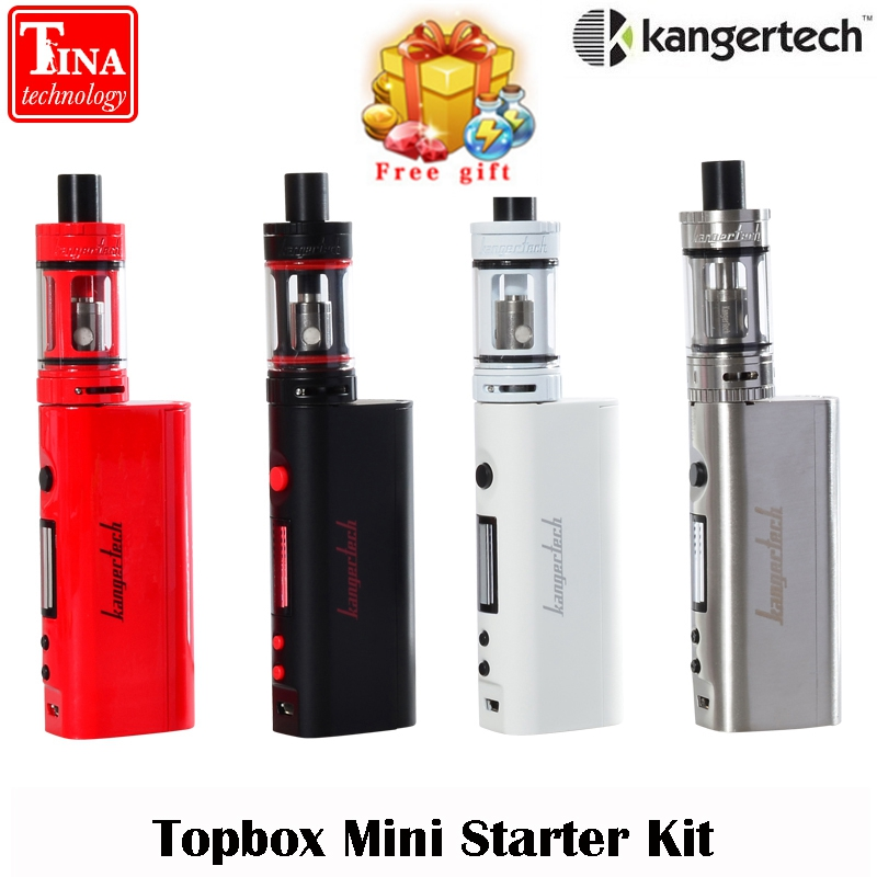 EU New 100% Original Kanger Topbox Mini Upgraded Subox Mini Starter kit 75W Subox Mini Pro Temperature Control Kit
