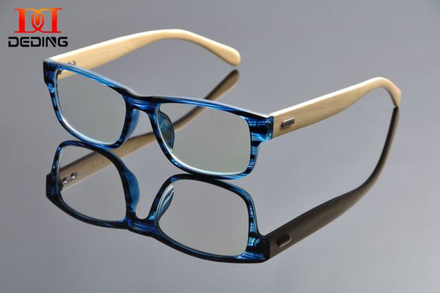 b3a2704637 TR90 acetate front wood temple Optical frame for women men high quality  acetate optical glasses