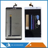 High Quality White Color For Doogee Y6 Max LCD Display Touch Screen Digitizer Assembly With Tools