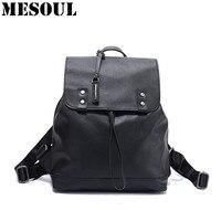 Mujer Mochila Модный женский рюкзак из натуральной воловьей кожи Школьные сумки для женский рюкзак женский дорожный Повседневный Рюкзак