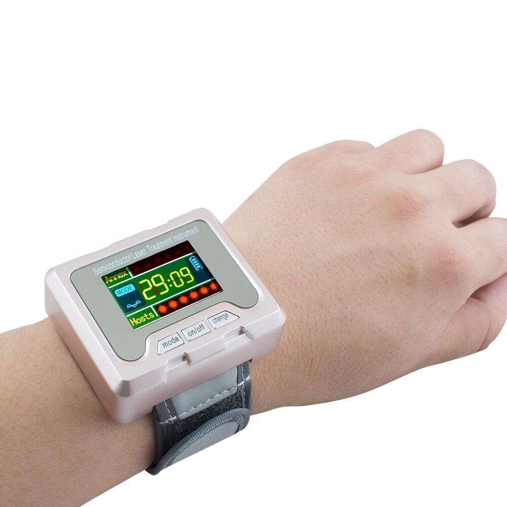 L'hypertension artérielle diabète cholestérol rhinite traitement thrombose cérébrale médical dispositif laser thérapie montre-bracelet