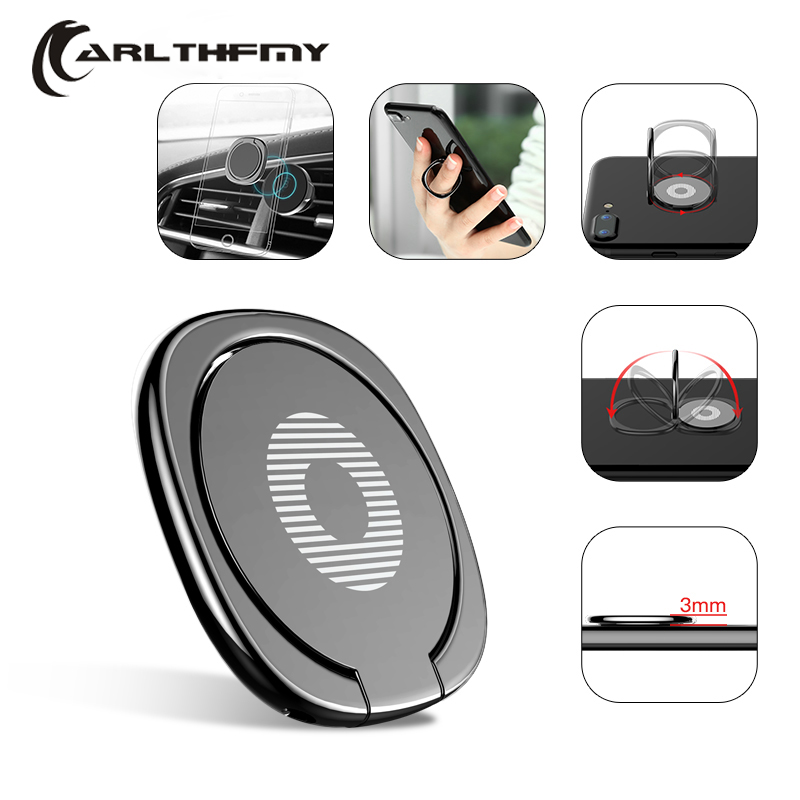 Car Phone Holder Magnetic for your mobile round Tablet table mobile phone stand for iPhone Samsung