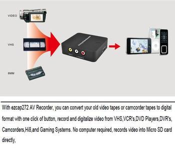 Analog AV Recorder old video tape camcorder VHS VCR DVD DVR 8mm Hi8 HDMI  Video