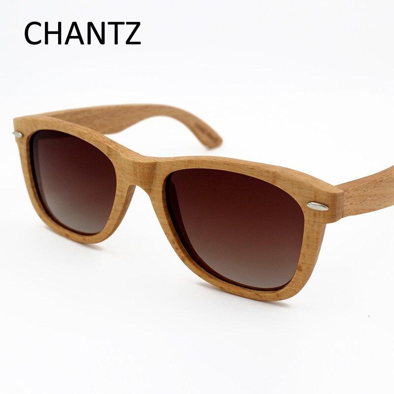 Natural Wood Sunglasses Men Women Brand Designer Polarized Sun Glasses With Metal Spring Hinge Lunette De Soleil Homme Femme in Men 39 s Sunglasses from Apparel Accessories