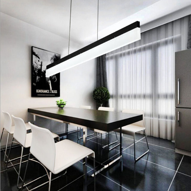 Online shop study office modern led hanging pendant lamp rectangle online shop study office modern led hanging pendant lamp rectangle suspended pendant light fixtures straight acrylic lampshade living room aliexpress mozeypictures Choice Image