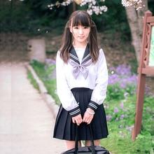 School Uniform Set Student Uniforms Cosplay Japanese/Korean Tie Sailor Suit Sets School Uniform Girl Women Long Sleeve