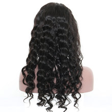 13X6 Large Part Lace Front Human Hair Wigs Pre Plucked 130% Density Loose Wave Brazilian Lace Front Wig Venvee Remy