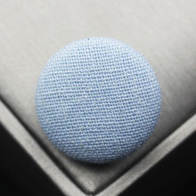 Free shipping 10pcs/lot light blue Cotton and linen button wrap cloth buttons Chinese wind blazer coat buttons 15mm-38mm(China)