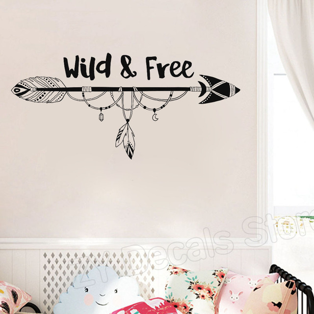 Boho Arrow Wall Sticker