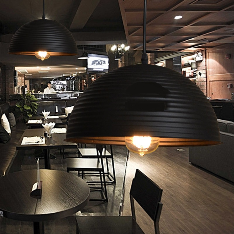 Modern office hanging (30CM-50CM) pendant light shade single head restaurant cafe coffee shops FG626 LU1019