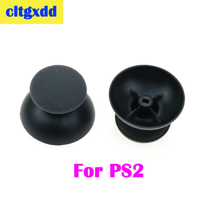 Cltgxdd 2pcs Analog 3D Thumb Sticks Joystick Small Hole Mushroom Cap For PS2/PS4 Thumbstick Grips For Playstation 2 4