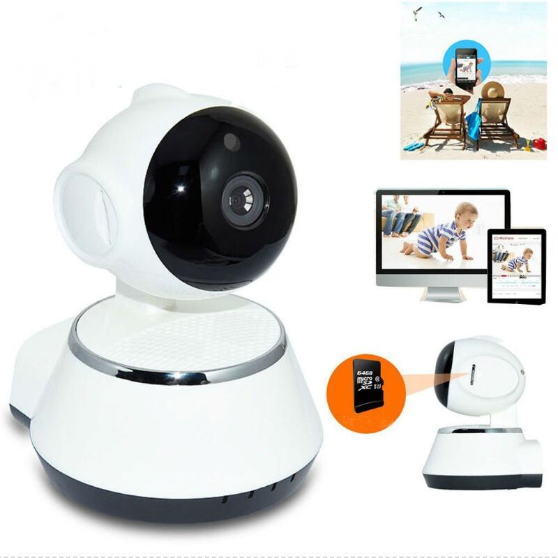 720P Wireless Pan Tilt Network Home CCTV IP Camera IR Night Vision WiFi Webcam high quality wireless pan tilt 720p security network cctv ip camera wifi webcam with different accessories