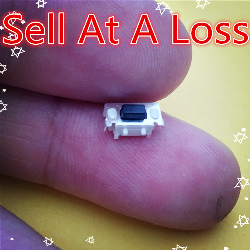 50pcs High Quality SMT 3X6X3.5MM 2PIN Tactile Tact Push Button Micro Switch G71 Momentary Sell At A Loss USA Belarus Ukraine стоимость